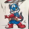 Art: Cat'n America: The Furriest Avenger!