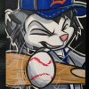 Art: Detroit Tiger Scratch