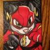Art: Scratch9 as The Flash