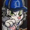 Art: Scratch Pitches in for The Detroit Tigers