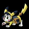 Scratch Cosplays Pikachu