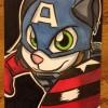 Art: Cat'n America: The Star-Spangled Shorthair