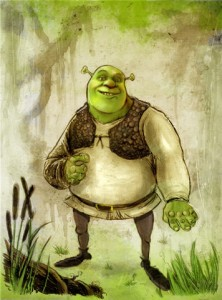 KiZoic's SHREK Comic Art