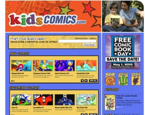 KidsComics.com Screen Shot