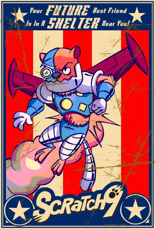 Scratch9 N3K0 Trading Card Artwork #8