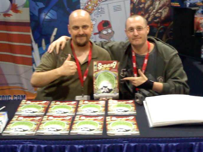 Rob & Jason Signing at SDCC 2010