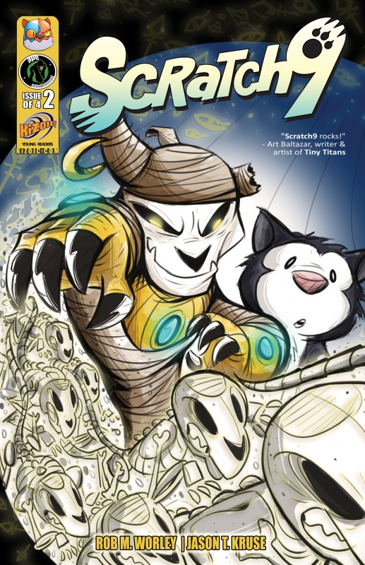 Scratch9 #2 Cover Art