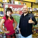 Comics Continuum host Jordan Torvillion and Rob M. Worley