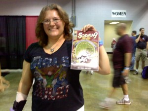 Toni purchased our last copy of Scratch9 #1 at Wizard Chicago