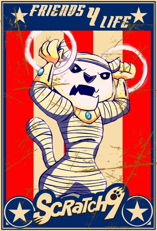 Scratch8 Bektah Trading Card Art