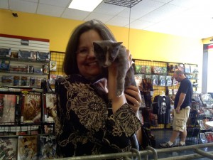 Jill Smethers, Owner of Comic City, and Tealee!