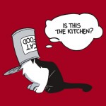 Kitchen Cat shirt design by Caanan Grall