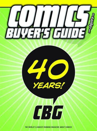 Cover to CBG #1678