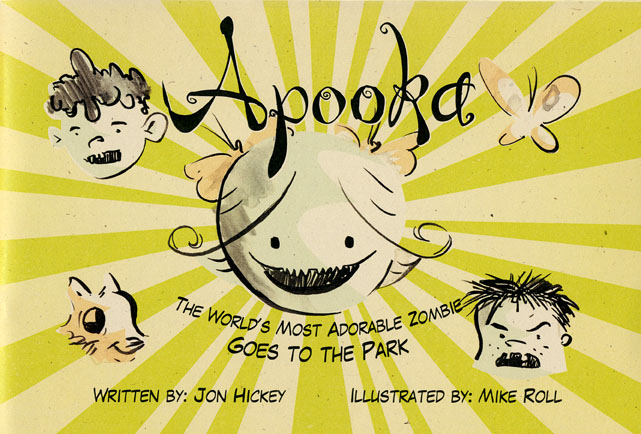 "Cover art to ""Apooka Goes to the Park"""