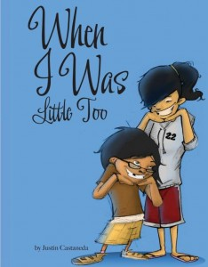 Cover art for WHEN I WAS LITTLE TOO by Justin Castaneda
