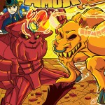 Scratch9 Free Comic Book Day 2014 Preview - Run & Amuk Flip Cover