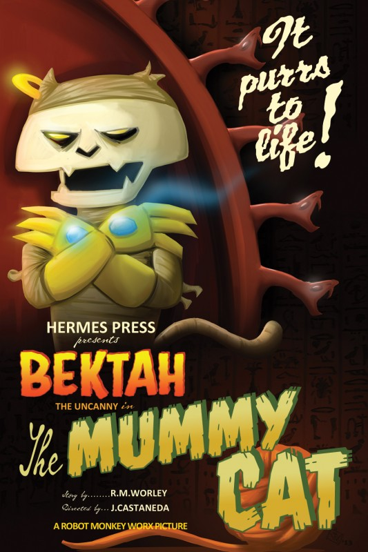Scratch9's Bektah as The Mummy Cat by Justin Castaneda