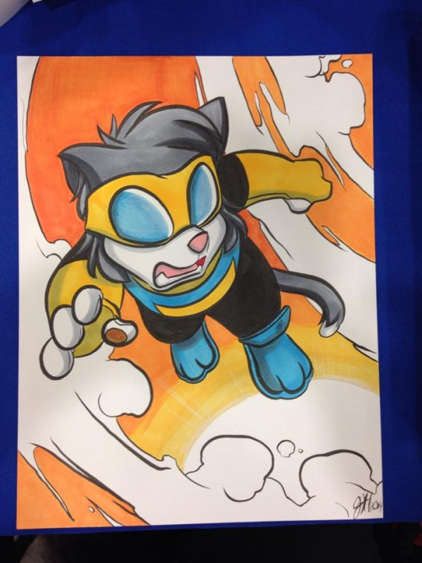 Scratch9 as Invincible by Joshua Buchanan
