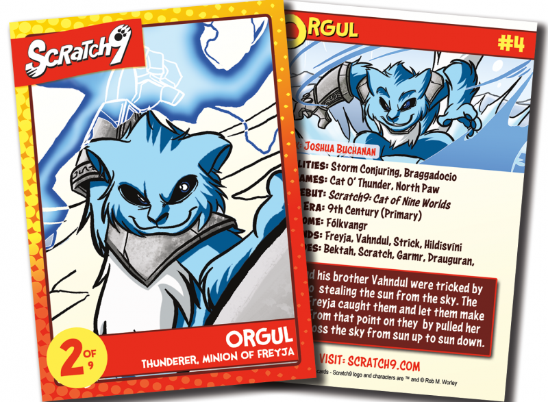 Scratch9 Trading Card #4 - Orgul - Debuting at Comikaze Expo 2015
