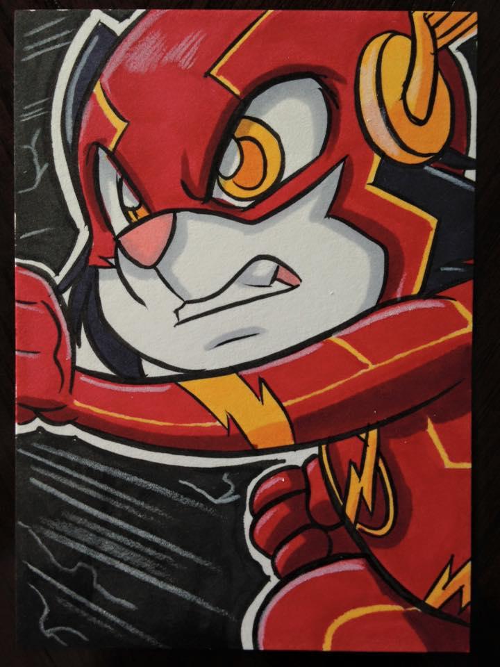 Scratch9 as Flash #5 by Joshua Buchanan