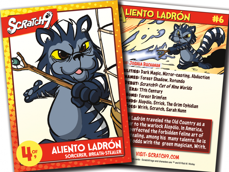 Scratch9 Card #6: Aliento Ladrón