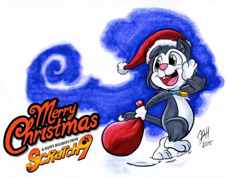 Merry Christmas from Scratch9 by Joshua Buchanan