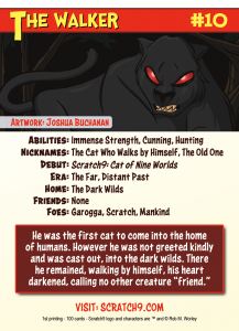 Scratch9 Trading Card #10 - Back