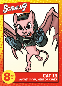 Trading Card #12 - Cat 13